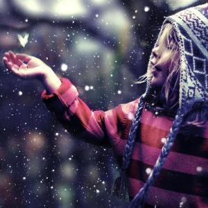KindSneeuw